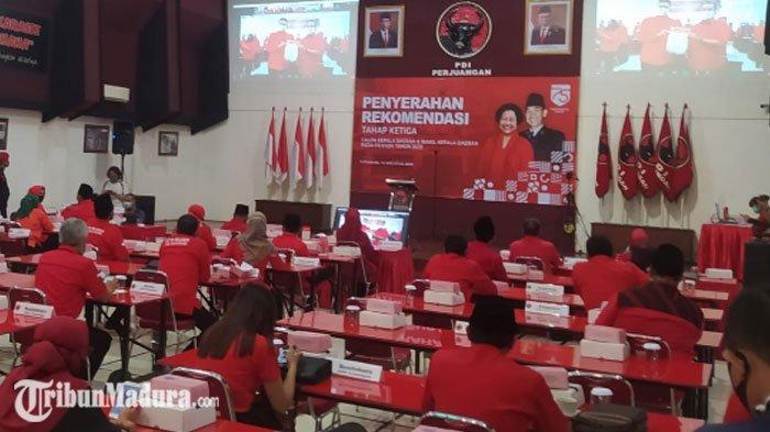 BREAKING NEWS - Lima Paslon PDIP di Jawa Timur Sudah Terima Rekomendasi, Simak Daftarnya