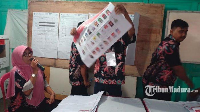 REAL COUNT TPS - Jokowi Kalahkan Telak Suara Prabowo di TPS Wali Kota Madiun Mencoblos