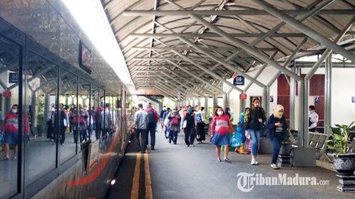 PT KAI Daop 8 Surabaya Batalkan Perjalanan 22 KA Jarak Menengah dan Jauh Sepanjang April 2020