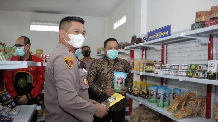 Polres Sampang Resmikan Gedung dan Retail Modern Wira Asta Brata Mart untuk Pasarkan Produk UMKM