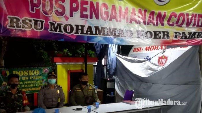 Polres Pamekasan Jaga Ketat Rumah Sakit Umum Mohammad Noer, Cegah Warga Ambil Paksa Jenazah Covid-19