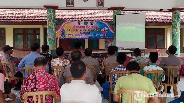 Final Piala Gubernur Jatim 2020 Persebaya Vs Persija, Polres Pamekasan Gelar Nonton Bareng Gratis