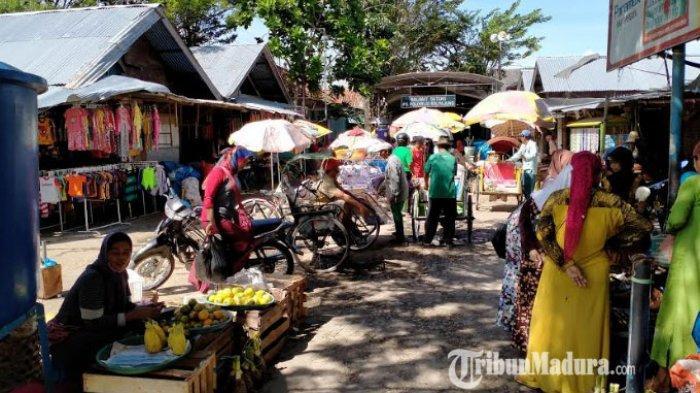 PDP di Pasar Kolpajung Pamekasan Positif Virus Corona, Sempat Menolak Diisolasi di Rumah Sakit