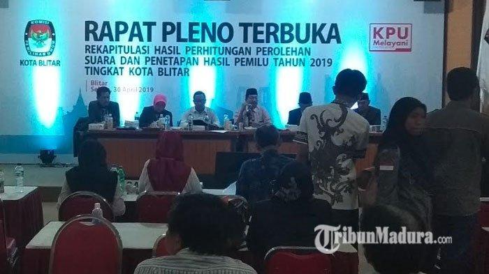 Jokowi Menang Telak dari Prabowo, BPN Kota Blitar Enggan Tandatangani Rekap Suara Tingkat Kota