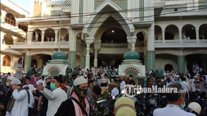 Ternyata Ini Alasan Takmir Masjid Agung Jami Kota Malang Tetap Gelar Salat Idul Fitri Berjamaah