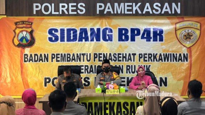 Mau Lepas Lajang, Empat Anggota Polisi di Pamekasan Jalani Sidang BP4R, Dapat Pesan dari Wakapolres