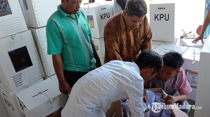 KPU Pamekasan Jawab Somasi Partai Gerindra Terkait Pembukaan Kotak Suara: Memang Ada Perubahan Suara