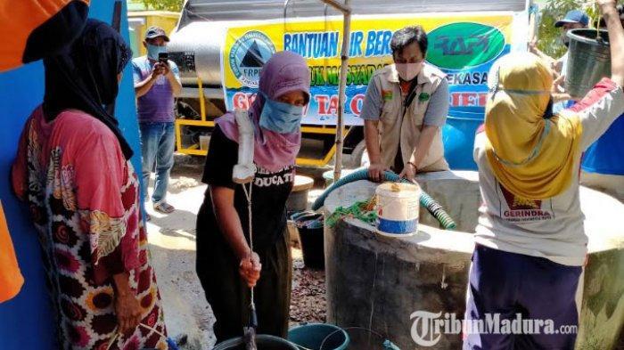 FRPB dan RAPI Pamekasan Kirim Bantuan Air Bersih Sebanyak 8.000 Liter ke Warga Terdampak Kekeringan