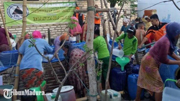 Musim Kemarau Tiba, Sejumlah Desa di Pamekasan Jadi Langganan Bencana Kekeringan Air