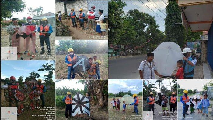 Main Layang-Layang Dekat Jaringan SUTM PLN Jadi Penyebab Listrik Padam di Desa Teja Barat Pamekasan