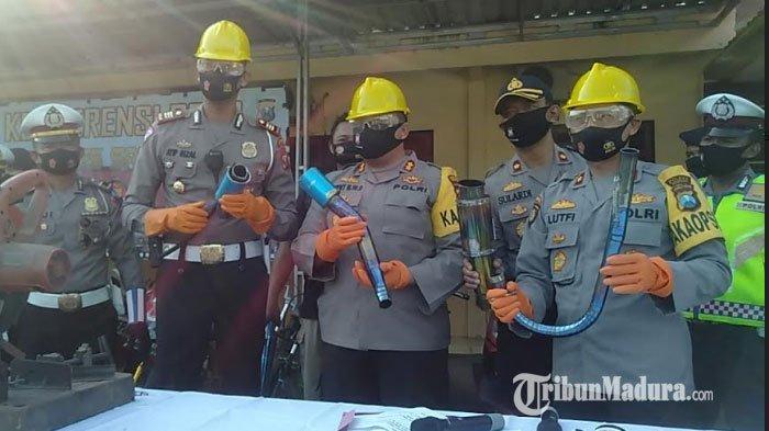 Operasi Patuh Semeru 2020 Selama 14 Hari, 973 Pengendara di Sampang Ditilang, Terbanyak Tak Bawa SIM