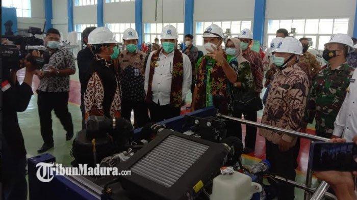 Poltera Resmikan Gedung Bengkel Kontruksi, Saat ini Poltera Punya Alat yang Langka di Indonesia