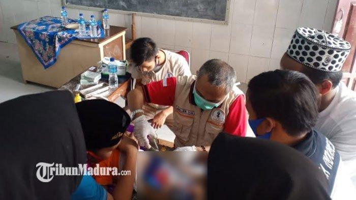 PSBB Pamekasan Gelar Sunat Massal Gratis, Diharapkan Bisa Ringankan Beban Warga di Tengah Pandemi