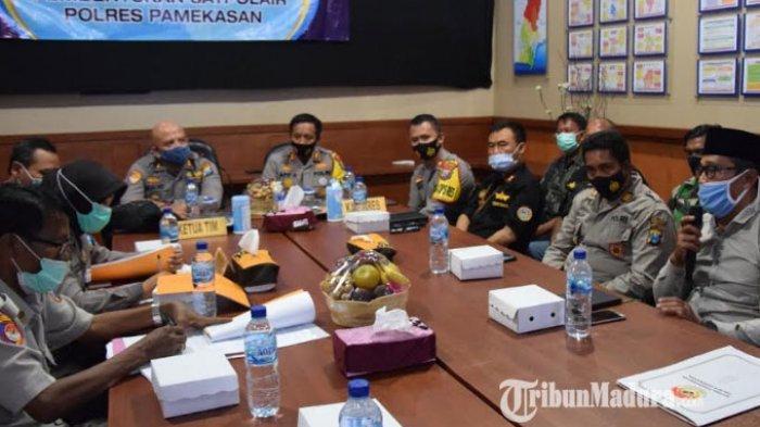 Kaji Kelayakan Pembangunan Sat Polair, Polda Jatim Berkunjung ke Wilayah Hukum Polres Pamekasan