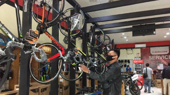 Sepeda Gunung di Kota Malang Laris Manis Selama Pandemi Corona, Stok Barang di Toko sampai Habis