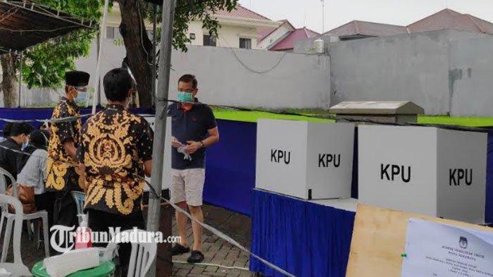Hujan Mengguyur, Bikin TPS Tempat Wakil Wali Kota Surabaya Mencoblos Sepi Pemilih, ini Rinciannya