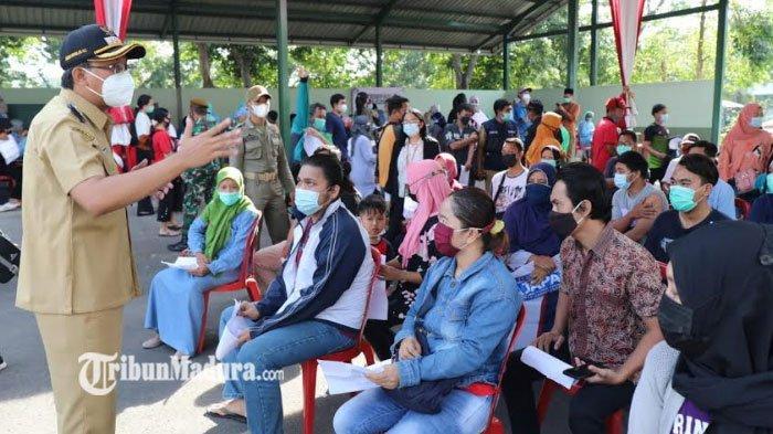 Vaksinasi Massal di Sidoarjo Terganggu Akibat Hoaks yang Tersebar, Bupati Sidoarjo Beri Imbauan