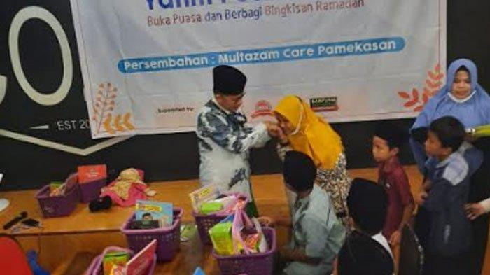 Dirut SSI Santuni Anak Yatim, Berencana Bakal Bagikan 1000 Paket Sembako untuk 5 Desa di Pamekasan