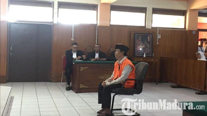 Kepasrahan Sugeng 'si Pemutilasi' Santoso Saat Hakim PN Malang Vonis Bui 20 Tahun, Bilang 'Menerima'