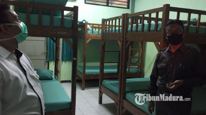 Pemkot Surabaya Pakai Asrama Haji Sukolilo untuk Ruang Isolasi Covid-19, Kepala UPT: 97 Persen Siap