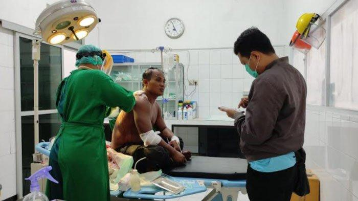 Nelayan Asal Sukabumi Disabet Senjata Tajam Rekannya di Pacitan, Motif Masih Didalami