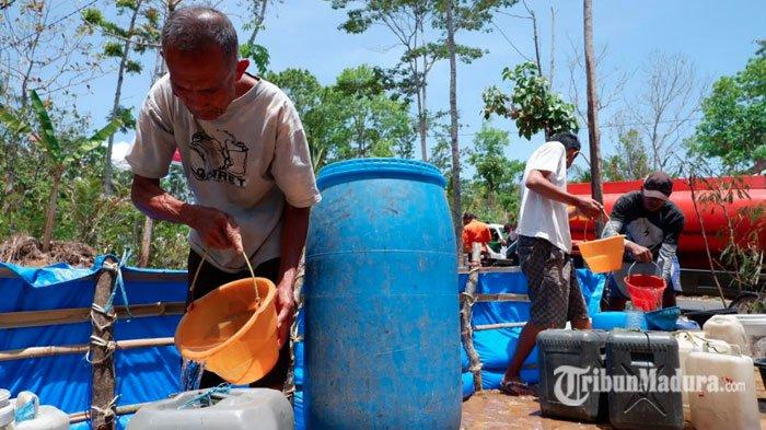 BPBD SampangSiap Droping Bantuan Air Bersih ke Wilayah Desa Kering Kritis Mulai Pekan ini