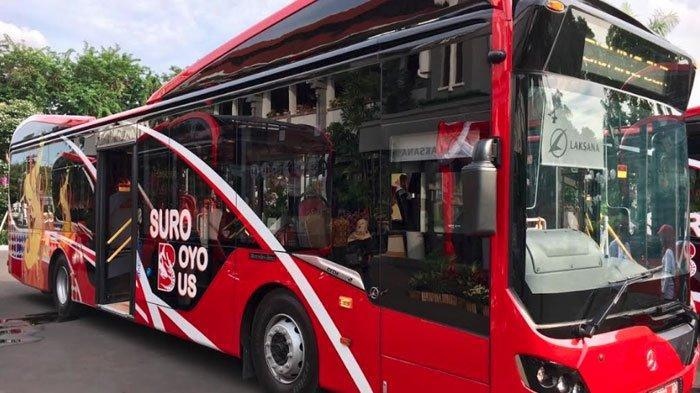 Rute Baru Suroboyo Bus, Kini Suroboyo Bus Masuk Jalur Shelter Terminal Intermoda Joyoboyo Wonokromo