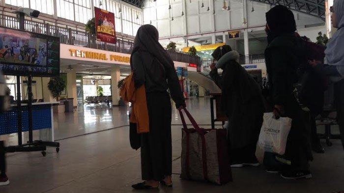 Penumpang Bus di Terminal Purabaya Tujuan Luar Kota Wajib Bawa Surat Keterangan dari Kelurahan
