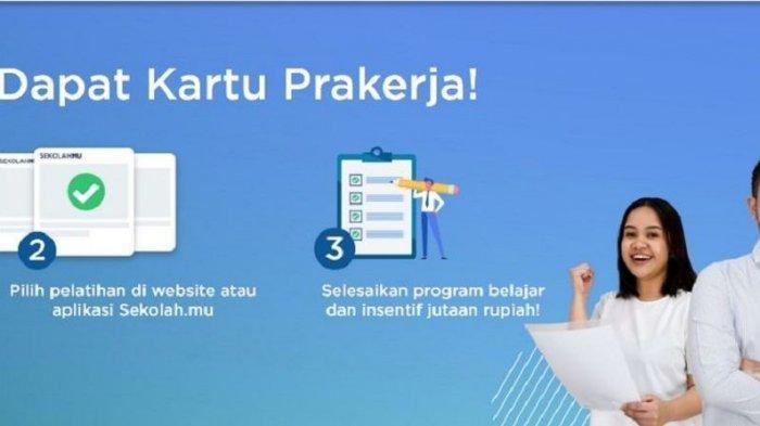 Link www.prakerja.go.id Bisa untuk Daftar Kartu Prakerja Gelombang 2021, Ini Syarat Penerima 2021!
