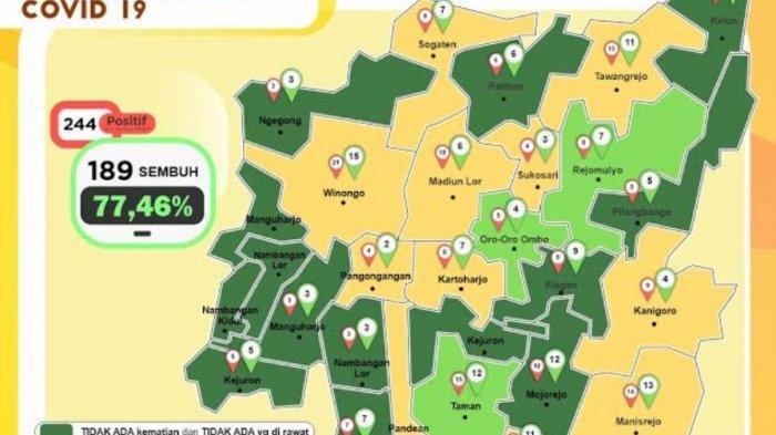 Dalam Sehari, Jumlah Pasien Covid-19 di Kota Madiun Bertambah 10 Kasus, Warga Diminta Patuhi Prokes