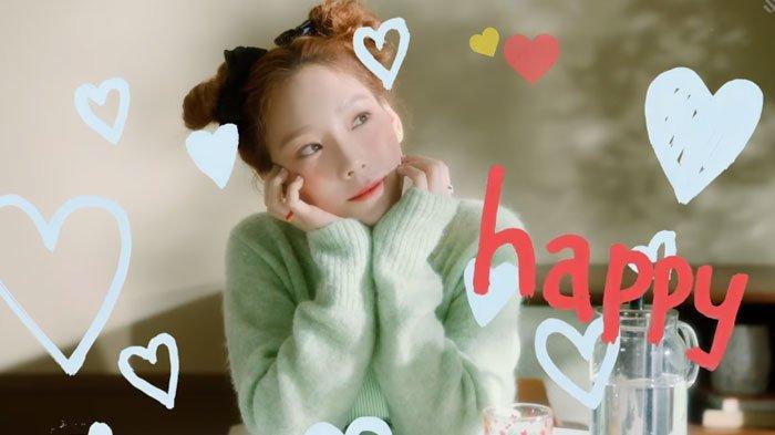 Download Lagu MP3 Happy, Single Taeyeon dari Girls Generation / SNSD, ada Lirik dan Terjemahnya