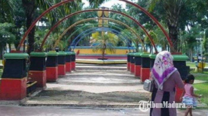 Tiga Taman di Kabupaten Sampang Madura Jadi Sasaran Maling, Kursi hingga Pompa Air Raib