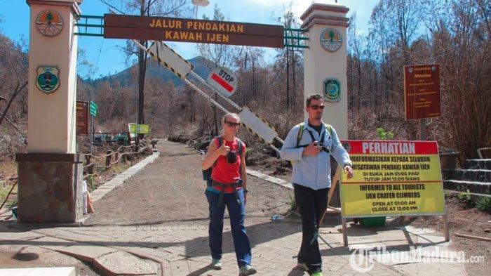 Kawah IjenBanyuwangi Langsung Diserbu Wisatawan, Sempat Ditutup Karena Kebakaran Hutan