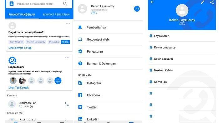 Cara Menggunakan Aplikasi Get Contact yang Bisa Cari Tahu Nama Kita atau Pasangan di HP Orang Lain