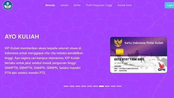 Login KIP kuliah.kemdikbud.go.id, Bantuan Kuliah Gratis dari Pemerintah, Simak Syarat dan Ketentuan