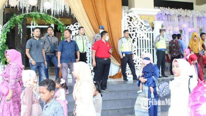 Nekat Gelar Resepsi di Tengah Wabah Virus Corona, Resepsi di Bangkalan Dibubarkan Polisi
