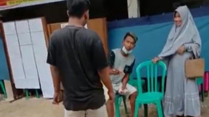 Viral Video Pemuda yang Bagi-Bagi Uang di Depan TPS Ngakunya Parodi, Kini Diamankan, Simak Kronologi