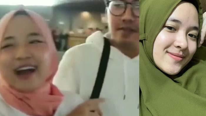 Tangkapan layar video viral Nissa Sabyan dan Ayus Sabyan dan potret sang vokalis.