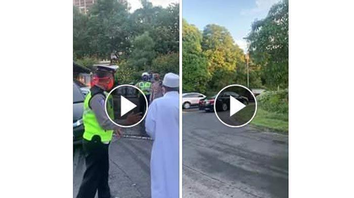 Video Viral Pria Berjubah Putih Terlibat Cekcok dengan Petugas,Polda Jatim Lakukan Digital Forensik