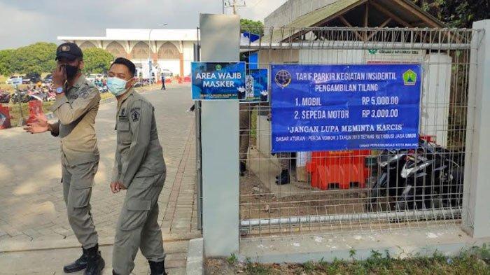 Dishub Kota Malang Tentukan 2 Titik Parkir Resmi di Lokasi Tes SKD CPNS 2021 di Islamic Center