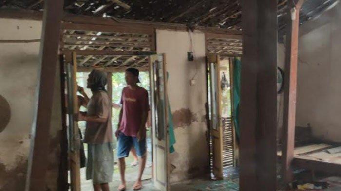 Terkena Imbas Gempa Bumi M 6,7 yang Bepusat di Malang, Tembok Rumah Warga di Ponorogo Roboh
