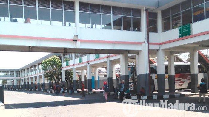 PSBB Berlaku Mulai Hari Ini, Bus JurusanSurabaya, Sidoarjo, dan Gresik Tidak Lagi Beroperasi