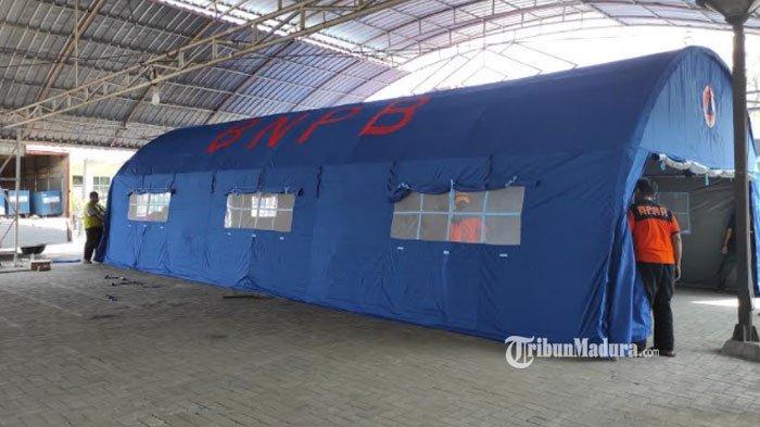 Satgas Covid-19 Tambah Tenda Darurat di RSUD Dr Harjono Ponorogo, Gunakan Jadi Tempat Transit Pasien