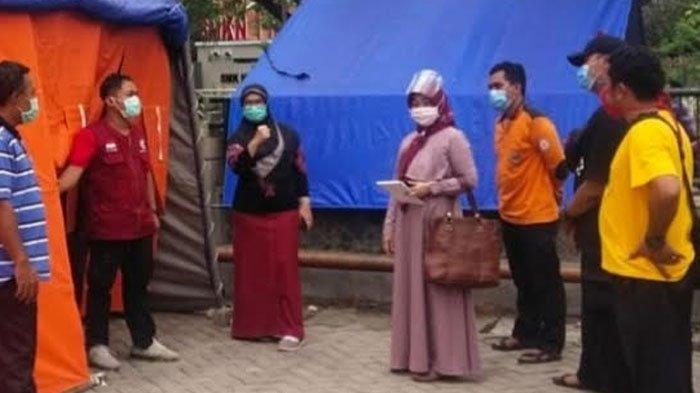 Alami Over Kapasitas, RSUD Nganjuk Dirikan Tenda Darurat untuk Tangani Pasien Covid-19