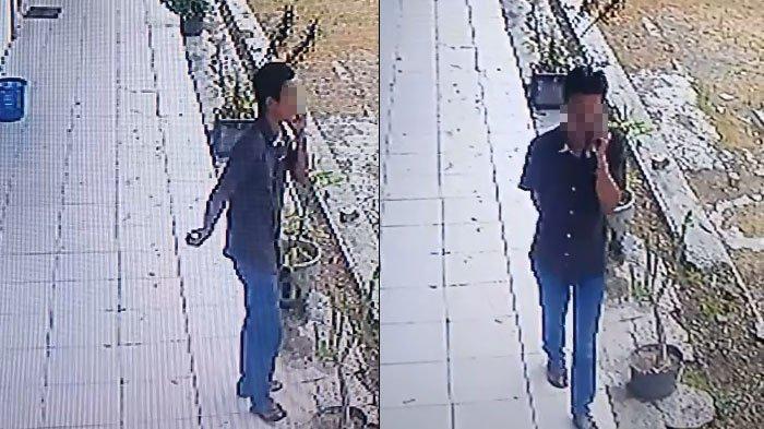 MotorYamaha Vega R Milik Guru SMKN1 Jrengik Sampang Digondol Maling,Korban Bawa Barang Bukti CCTV
