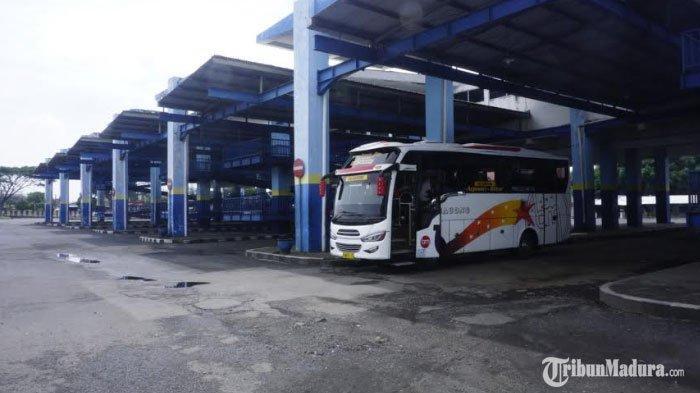 Sudah Beroperasi,Terminal Arjosari Malang Tetap Sepi Penumpang, Banyak Sopir Bus Mengeluh