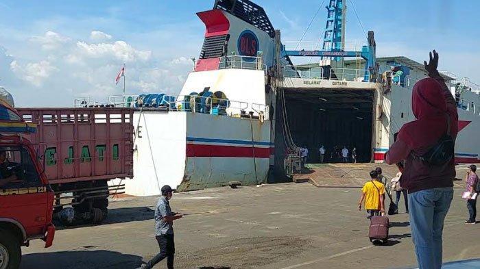 Dampak Pandemi, Terminal Penumpang Pelabuhan Gapura Surya Nusantara Sepi Penumpang sejak Tahun Lalu