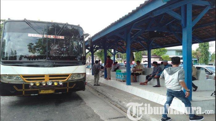 Setelah Arus Mudik dan Balik Lebaran 2019, Penumpang di Terminal Trunojoyo Sampang Malah Membludak