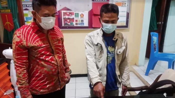 Aksi Tercela Warga Gresik di Belakang Bosnya Sendiri, CCTV Ungkap Fakta, Ponsel Jadi Barang Bukti