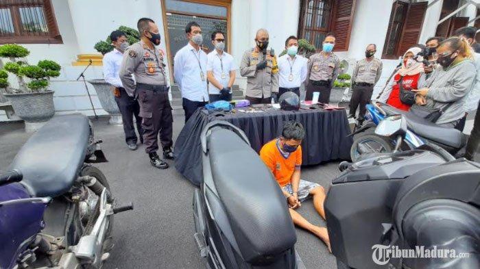 Anggota Komplotan Maling Motor di Surabaya Ditangkap, Satu Orang Ditembak Mati Polisi Karena Melawan